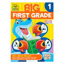 Big First Grade Workbook By School Zone Publishing
