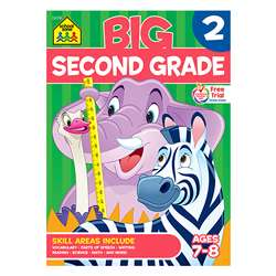 Big Second Grade Workbook By School Zone Publishing