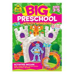 Big Preschool Activity Workbook, SZP06321