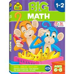 Big Math Gr 1-2 By School Zone Publishing