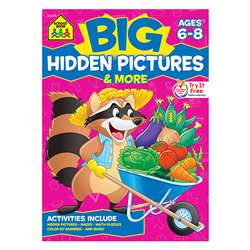 Big Hidden Pictures & More Workbook By School Zone Publishing