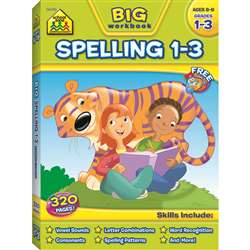 Big Spelling Gr 1-3 By School Zone Publishing