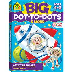 Big Workbook Alphabet Dot To Dots, SZP06347