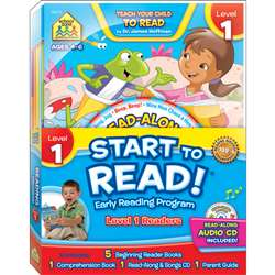 Early Reading Program Level 1 Start To Read, SZP08315