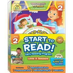 Early Reading Program Level 2 Start To Read, SZP08316