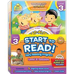 Early Reading Program Level 3 Start To Read, SZP08317