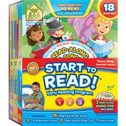 Complete Early Reading Program Start To Read, SZP08319