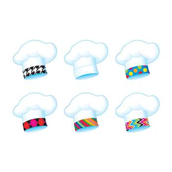 Chefs Hats Bake Shop Classic Accents Variety Pack By Trend Enterprises