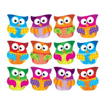 Owl Stars Clips Accents Variety Pack By Trend Enterprises
