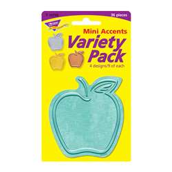 Apples Mini Accents Variety Pack I Heart Metal, T-10735