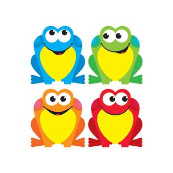 Colorful Frogs Mini Accents, T-10893