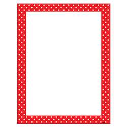 Polka Dots Red Terrific Papers, T-11426