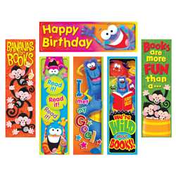Clever Characters Bookmarks Variety Pack By Trend Enterprises