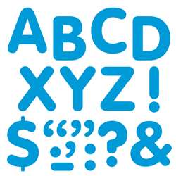 "Stick-Eze 2"" Letters & Marks Blue By Trend Enterprises"
