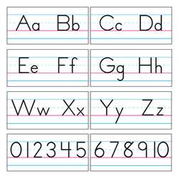 Bb Set Manuscript Zaner-Bloser 18 By Trend Enterprises