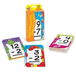 Pocket Flash Cards Subtraction Sustraccion By Trend Enterprises
