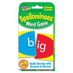 Challenge Cards Spellominoes By Trend Enterprises