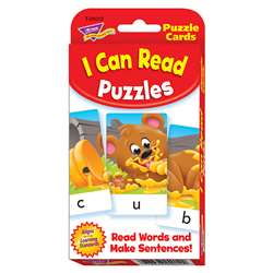 Challenge Cards Picture Word Puz By Trend Enterprises