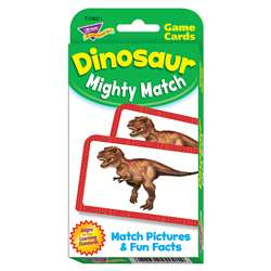 Dinosaur Mighty Match Challenge Cards, T-24021