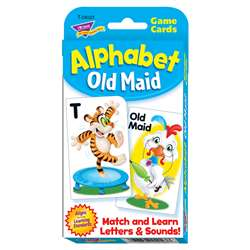 Alphabet Old Maid Challenge Cards, T-24023