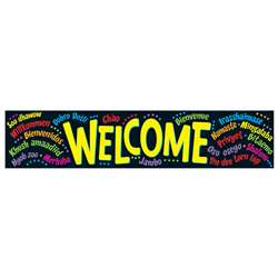 Banner Welcome Multilingual By Trend Enterprises