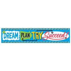 Dream Plan Try - Bold Strokes 5Ft Quotable Express, T-25095