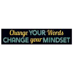 Change Your Words Banner, T-25304