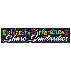 Celebrate Differences Banner, T-25313