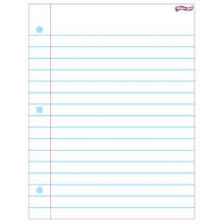 Notebook Paper Wipe Off Chart 17X22 By Trend Enterprises