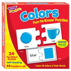 Puzzle Colors By Trend Enterprises
