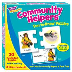 Fun To Know Puzzles Community Helpers By Trend Enterprises