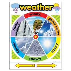 Chart Weather 17 X 22 Gr Pk-2 By Trend Enterprises
