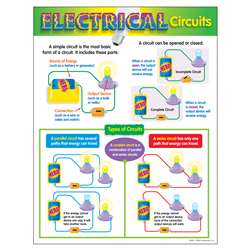 Chart Electrical Circuits By Trend Enterprises
