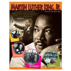 Chart Martin Luther King Jr Gr 4-8 17 X 22 By Trend Enterprises