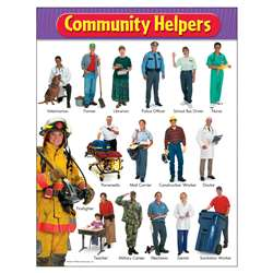 Chart Community Helpers By Trend Enterprises