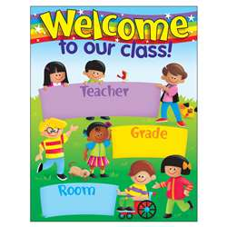 Learning Charts Welcome Trend Kids By Trend Enterprises