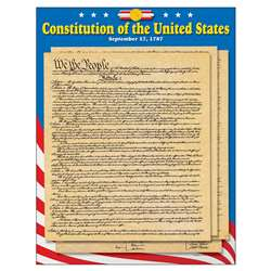Learning Chart U S Constitution By Trend Enterprises