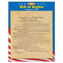 Learning Chart Bill Of Rights By Trend Enterprises
