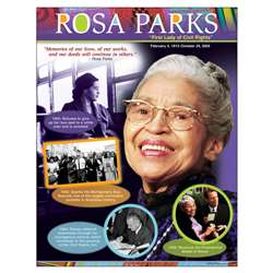 Rosa Parks Learning Chart By Trend Enterprises