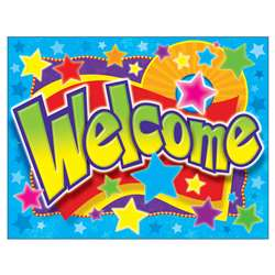Welcome Stars Learning Chart By Trend Enterprises