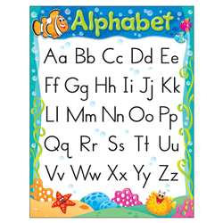 Alphabet Sea Buddies Learning Chart, T-38350