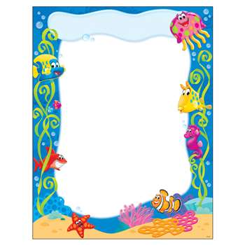 Sea Buddies Learning Chart, T-38355