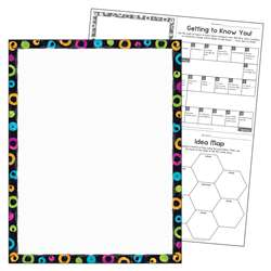 Blank Color Harmony Learning Chart, T-38402