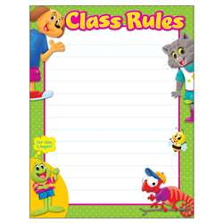 Class Rule Playtime Pal Learn Chart, T-38459