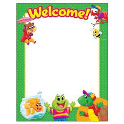 Welcome Playtime Pal Learning Chart Classroom Basi, T-38460