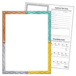 Blank I Heart Metal Learning Chart, T-38462