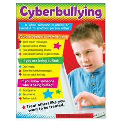 Cyberbullying Learning Chart Primary, T-38640