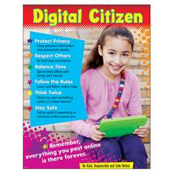 Digital Citizenship Learning Chart Primary, T-38641