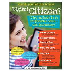 Digital Citizenship Learning Chart Secondary, T-38644