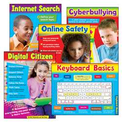 Primary Technology 5 St Learning Charts Combo Pack, T-38961
